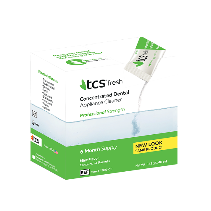 TCS® Fresh Denture Cleaner - TCS France