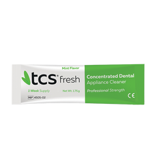 TCS® Fresh Denture Cleaner - Dentifrice pour prothèse dentaire - TCS France