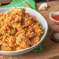 Brazilian Chicken and Rice: Galinhada