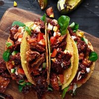 Vegan Pulled Oumph! Tacos