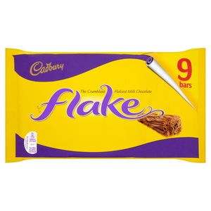 Cadbury Flake Chocolate Multipack 9 X 20G - Iceland