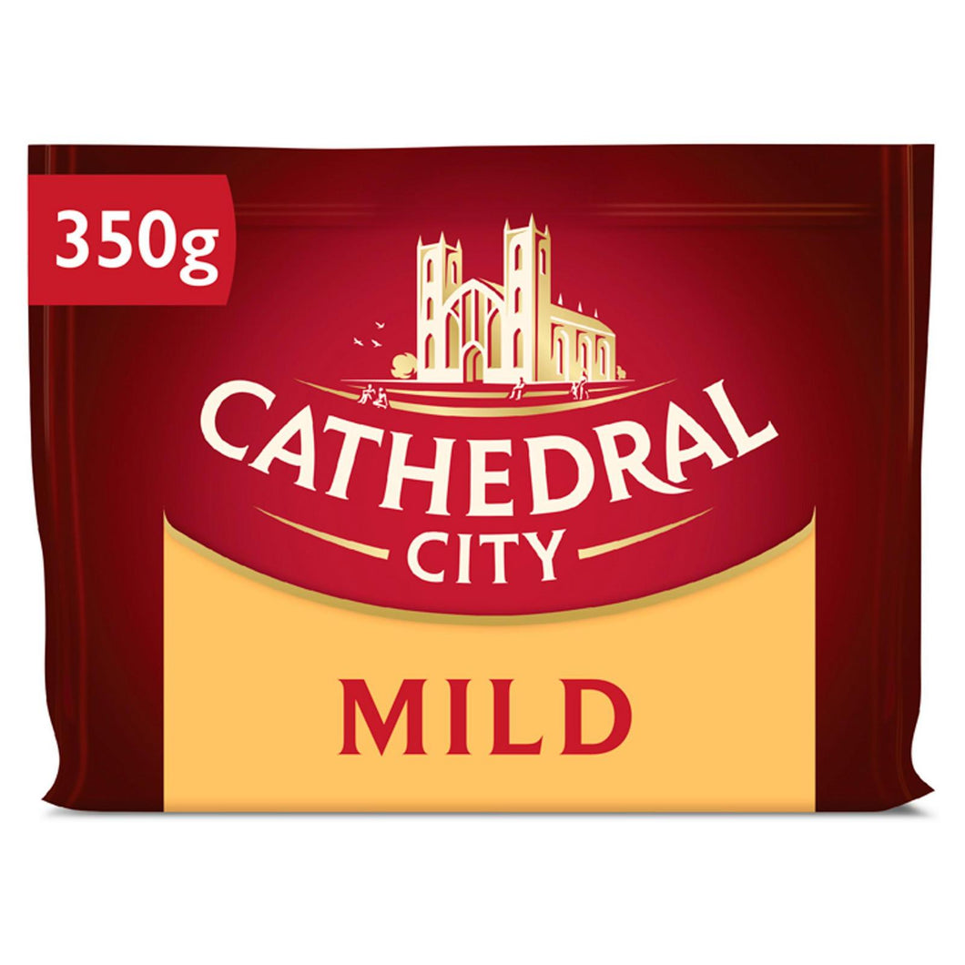 Cathedral City Mild Cheddar Cheese 350G (Iceland)