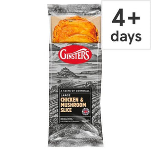 Ginsters Chicken And Mushroom Slice 204G - Tesco