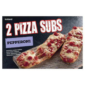 Iceland 2 Pepperoni Pizza Subs 264G - Iceland