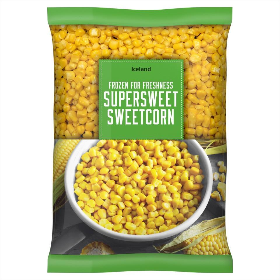 Iceland Frozen For Freshness Supersweet Sweetcorn 800G - Iceland