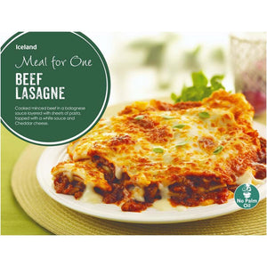 Iceland Meal for One Beef Lasagne 500G - Iceland