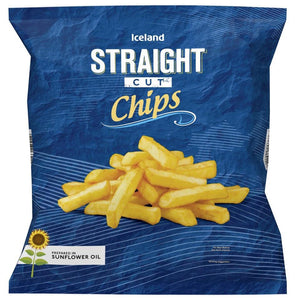 Iceland Straight Cut Chips 1.25Kg - Iceland