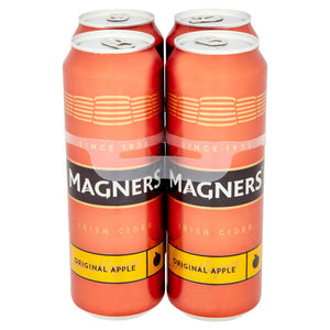 Magners Irish Cider Original Apple 4 x 568ml - Iceland