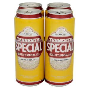 Tennent's Special Ale 4 x 500 ml - Island