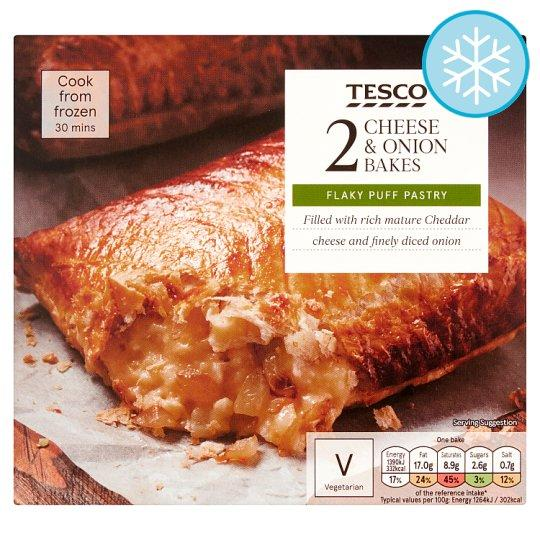 Tesco 2 Cheese And Onion Bakes 260G - Tesco