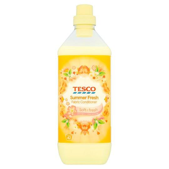Tesco Fabric Conditioner Summer Fresh 1.26L 42 Washes - Tesco
