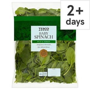 Tesco Spinach 500G - Tesco