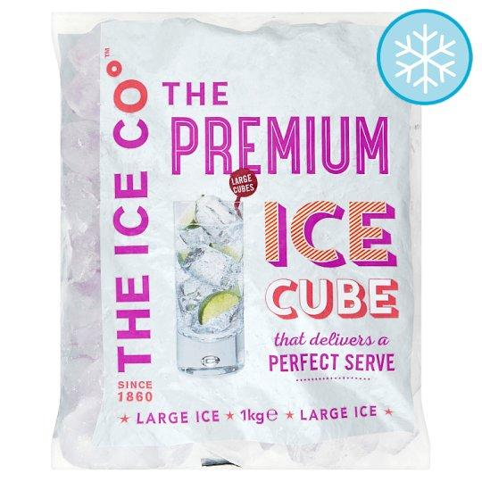 The Ice Co. Premium Ice Cubes 1Kg - Tesco