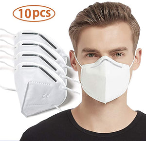 KN95 Masks - Protective Mouth Cover 10/pk