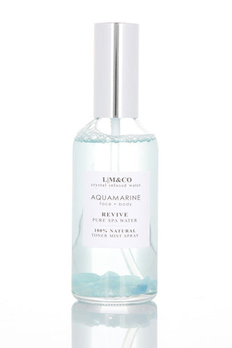 CRYSTAL INFUSED TONER SPRAY - AQUAMARINE (SPA WATER)