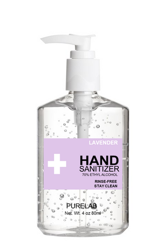 HAND GEL SANITIZER - LAVENDER 8 OZ/16 OZ