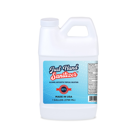 SURFACE DISINFECTANT REFILL - 80% ETHYL ALCOHOL 1 GALLON