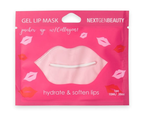 PINK GEL LIP MASK