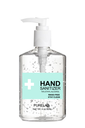 HAND GEL SANITIZER -  Size 8 OZ/16 OZ