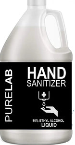 LIQUID SPRAY REFILL- 80% ALCOHOL SANITIZER 1 GALLON
