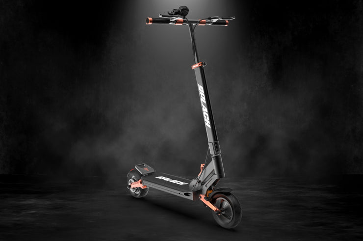 SPLACH Turbo: Ultra-Smooth Suspension E-Scooter