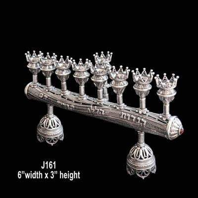 About the Menorah - Jewish 8 branched candelabrum for Hanukkah