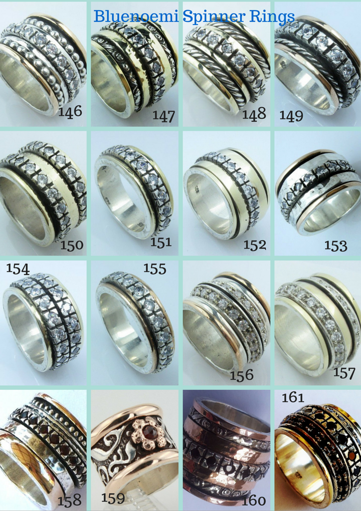 Bluenoemi spinner rings