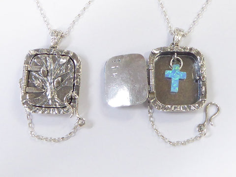 Christian Locket Necklace