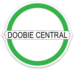 "3"" Doobie Central Retro Logo Sticker - EXCLUSIVE TO DOOBIECENTRAL.CA"
