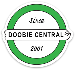 "3"" Doobie Central Sticker - 50 pack"