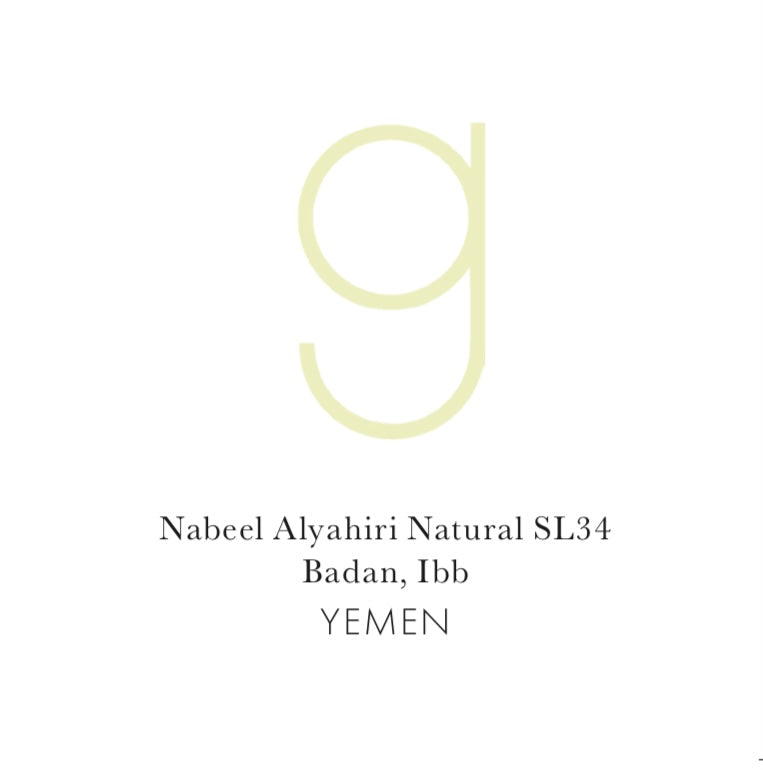 Yemen Nabeel Alyahiri Natural SL34 (Pre-Sale, Roasts on May 3)