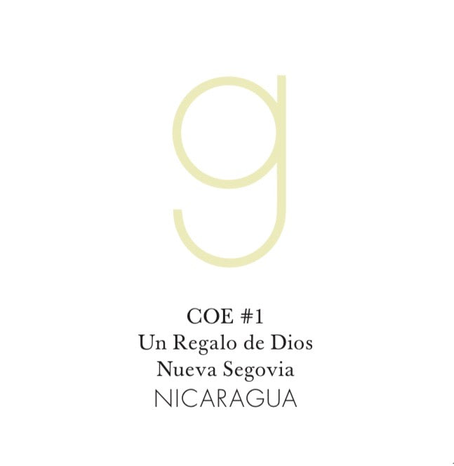 Nicaragua Natural Maracaturra COE #1  6oz Jar (pre-order, roasts on Apr 5)