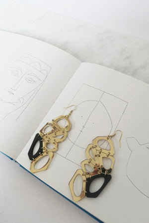 Voronoi Earrings