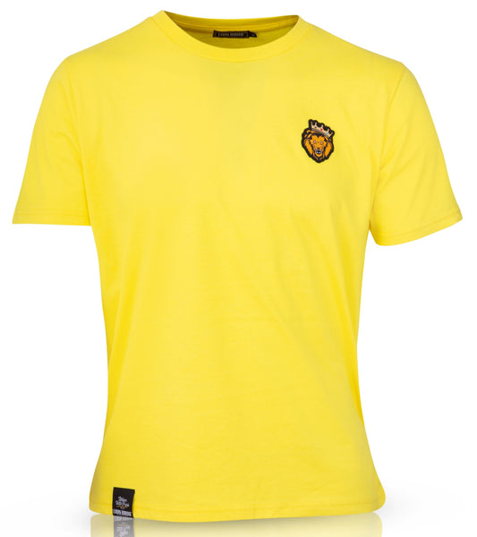 Single Lion T-Shirt (Yellow)