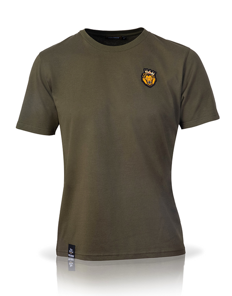 Single Lion T-Shirt (Khaki)