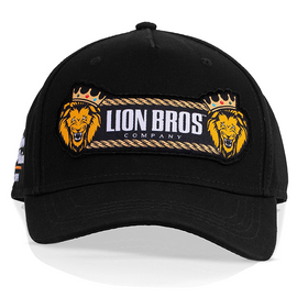 Cargo Cap Double Lion (Black)
