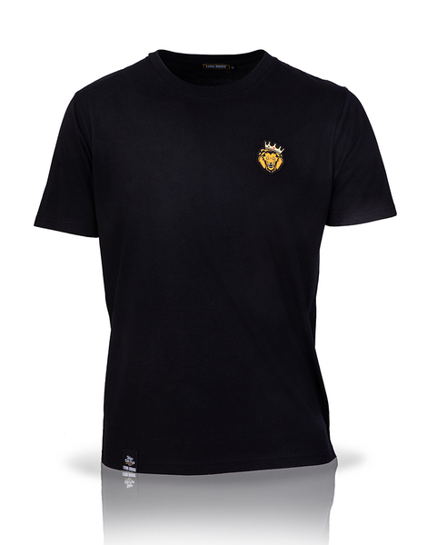Single Lion T-Shirt (Black)