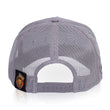 Trucker Cap Single Lion (Grey)
