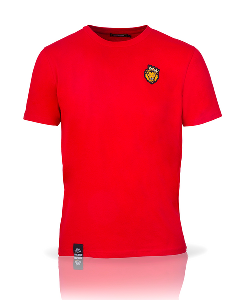 Single Lion T-Shirt (Red)