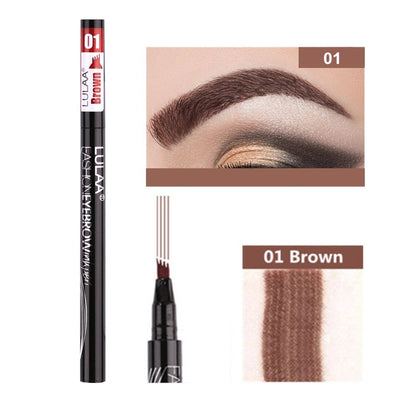 5 Colors Eyebrow Pen