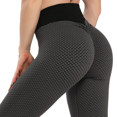 FITTOO Seamless Athletic Gym Leggins Scrunch Butt Leggings Women's Pants Fitness Pants High Waist Workout Breathable Leggins