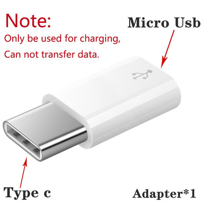 2 in 1 Type-C Male + Micro USB Male To USB 3.0