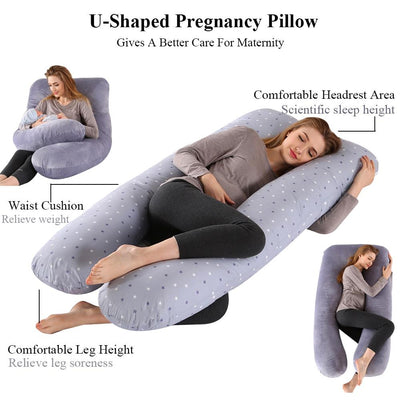 Starry Pregnancy Pillow Maternity Breastfeeding Pillow Lactation Cushion Pregnancy Nursing Pillow for Pregnant Women Sleeping