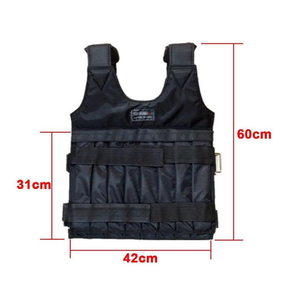 PowerVest™ Adjustable Weighted Workout Running Vest