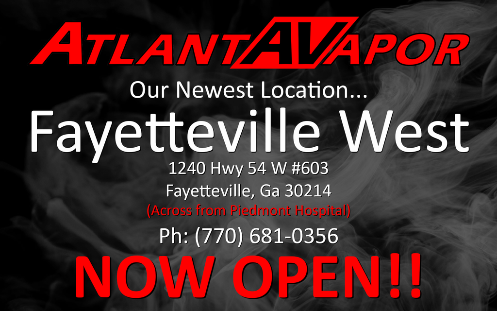 New Location - Fayetteville West - NOW OPEN