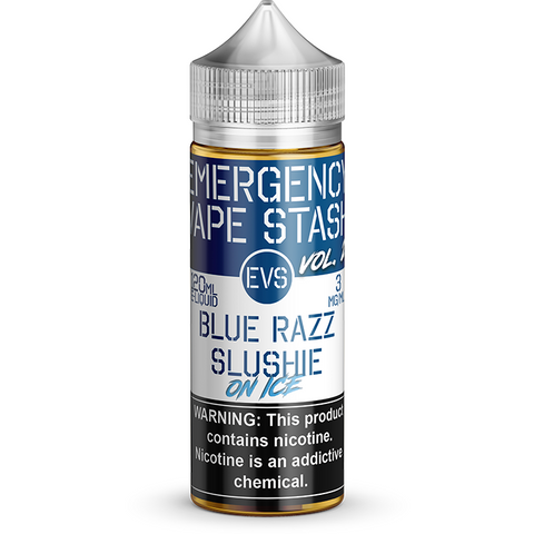 Blue Razz Slushie on Ice - By Emergency Vape Stash (EVS Vol 2)