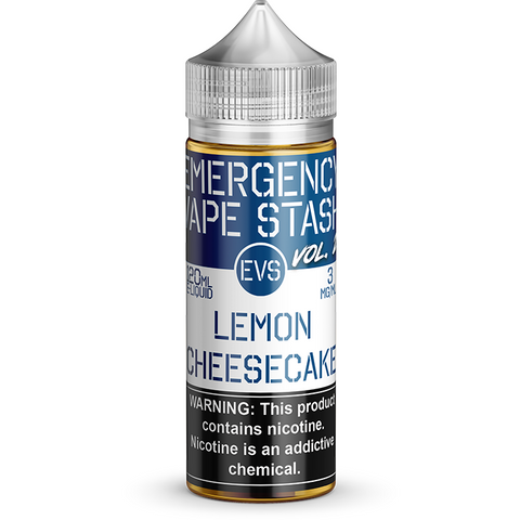 Lemon Cheesecake - By Emergency Vape Stash (EVS Vol 2)