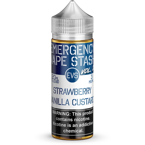 Strawberry Vanilla Custard - By Emergency Vape Stash (EVS Vol 2)