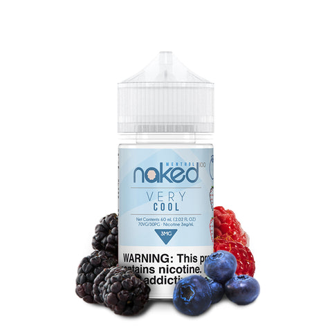Berry/Very Cool - By Naked 100 Menthol