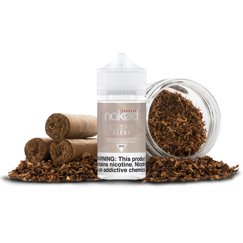 Cuban Blend - By Naked 100 - Tobacco Line